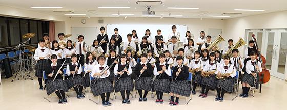 常翔学園高等学校 吹奏楽部の集合写真